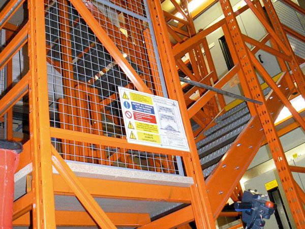 Integrated Stairways