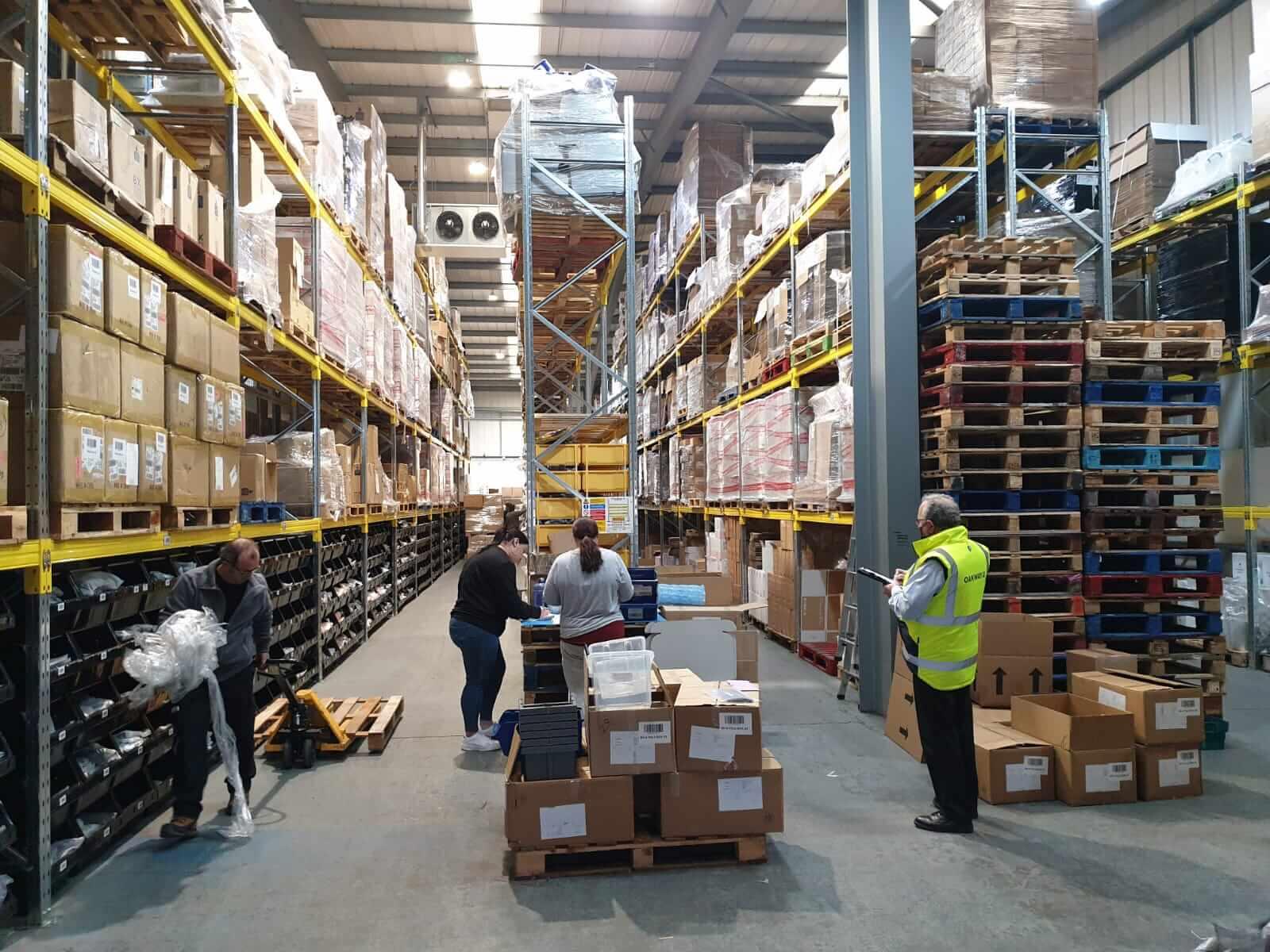 Warehouse survey